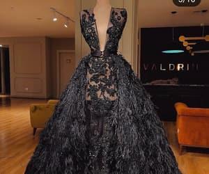 black, dress, and dresses image