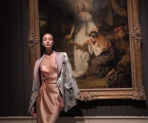 elegant, girl, and luxury image