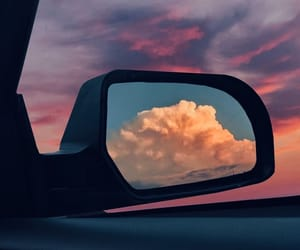 car, clouds, and dreamy image