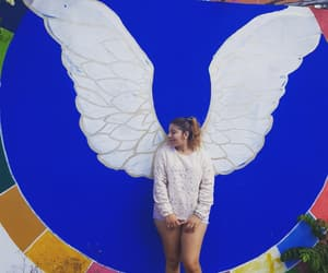 Alas, girl, and mural image