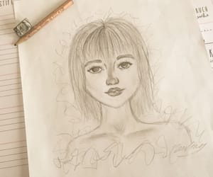 artist, draw, and pencilscetch image