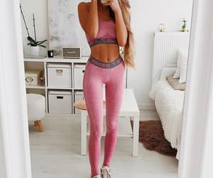 abs, work out, and sport outfit image