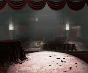 abandoned, theater, and empty image