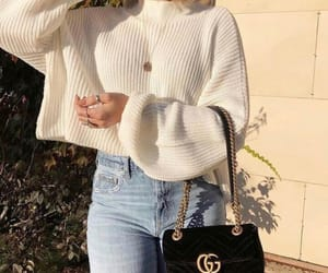 fashion, gucci, and sweater image