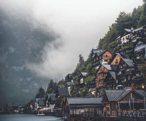 background, Houses, and peaceful image