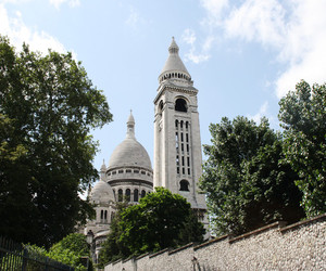 church, sacre couer, and france image