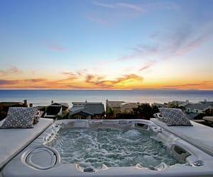 summer, sunset, and luxury image