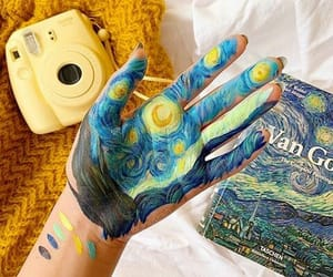 aesthetic, art, and van gogh image