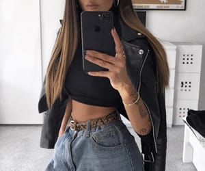 hair, inspo, and outfit image
