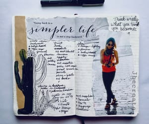journaling, notebooks, and sketchbooks image