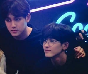boys, dark, and korean image