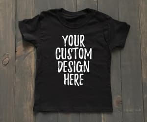 etsy, kids graphic shirt, and funny kids shirt image