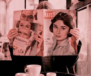 girl, magazine, and vintage image