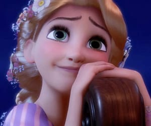 blond, disney princess, and rapunzel image