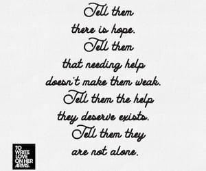 alone, hope, and anxiety image