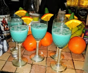 blue, booze, and Cocktails image
