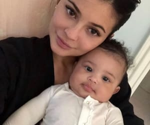 kylie jenner, baby, and stormi webster image