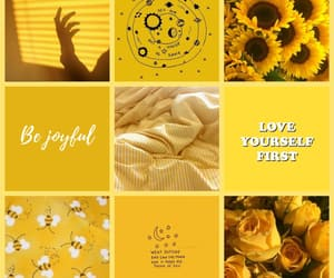 aesthetic, positivity, and yellow image
