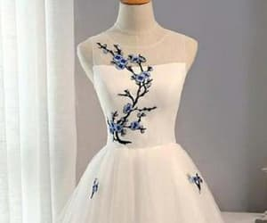 a-line prom dresses, cute homecoming dress, and homecoming dress cheap image