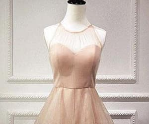 pink prom dresses, sleeveless prom dresses, and homecoming dress a-line image