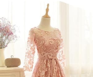 cheap homecoming dresses, a-line prom dress, and prom dress with sleeves image