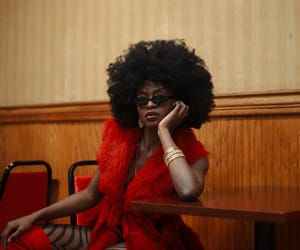 beauty, black hair, and fashion image