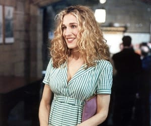 Carrie Bradshaw, style, and vintage image