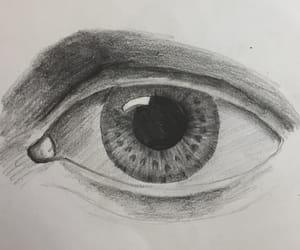beautiful, lápiz, and dibujo image