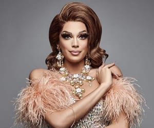 beauty, drag, and RuPaul image
