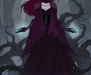witch, mistic, and magic image