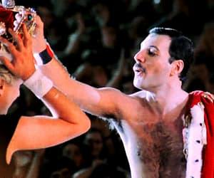 Freddie Mercury, roger taylor, and gif image
