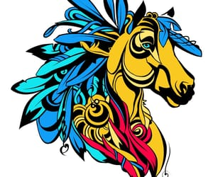 art, colores, and tribu image