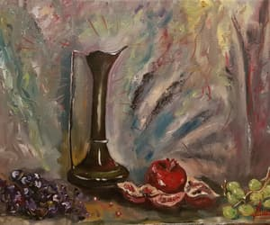 art, oils, and painting image