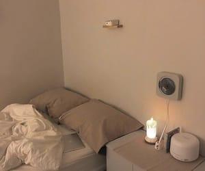 interior, bedroom, and beige image