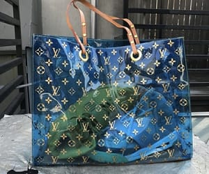 bag, luxury, and blue image
