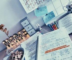 home, mood, and study image