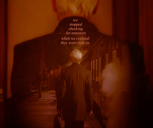 draco malfoy, half-blood prince, and harry potter image