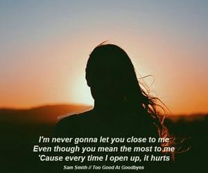 close, hurts, and music image