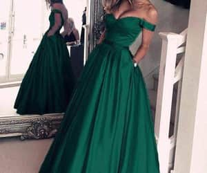 beautiful prom dress and custom evening dress image