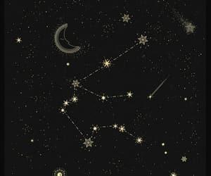 aquarius, constellation, and stars image