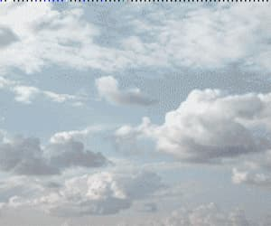 clouds, nature, and gif image