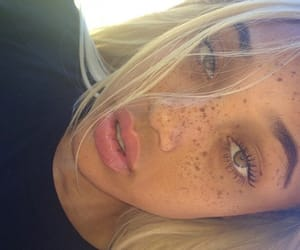 freckles, beauty, and blonde image
