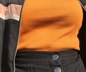 orange, clothes, and alternative image