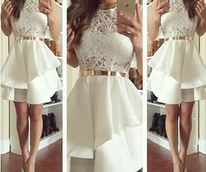 dress, fashion, and prom dresses image