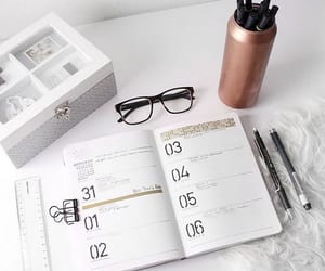 agenda, fashion, and study image