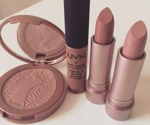 lipstick, makeup, and NYX image