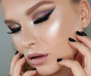 amazing, makeup, and nude lips image