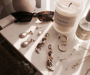 gold, accessories, and sunglasses image