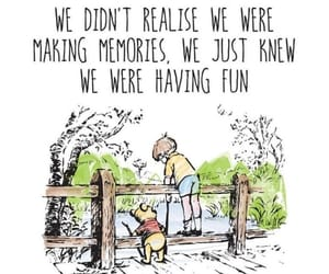fun, winnie pooh, and memories image