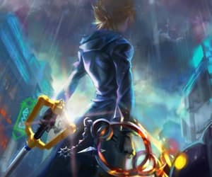 kingdom hearts and roxas image